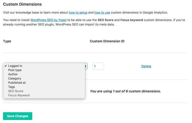 Custom Dimensions Addon Preview