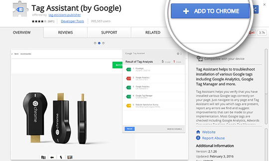 download tag assistant by google