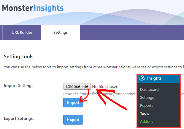 import-monsterinsights-settings
