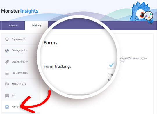 wordpress forms tracking and analytics