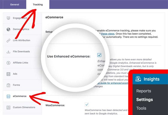 enable-enhanced-ecommerce-monsterinsights